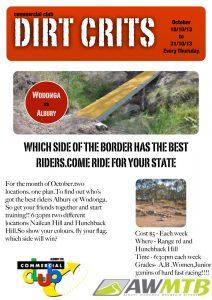 Dirt Crits: Wodonga vs Albury!