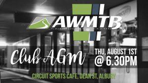 AWMTB Annual General Meeting @ Circuit Sports Cafe, Albury